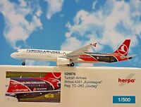 Herpa Wings 1:500 Airbus A321 Turkish Airlines TC-JRO  526876  Modellairport500