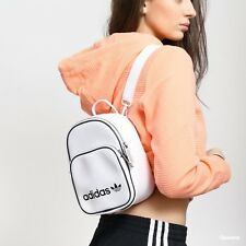 NEW ADIDAS ORIGINALS TREFOIL CLASSIC X VINTAGE MINI FAUX LEATHER BACKPACK CD6988