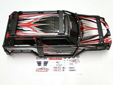 NEW TRAXXAS SUMMIT 1/10 Body Set Factory Black New Upgraded Design RM6K