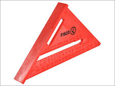"FISCO 175mm (7"") RED PLASTIC ROOFING / MITRE / RAFTER ANGLE SQUARE"