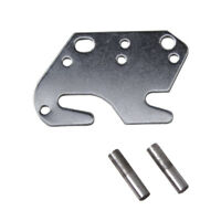 "2"" Universal Wood Bed Rail Bracket Metal Claw Hook Plates 2 PCS"