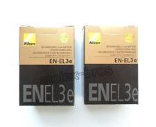 2 x EN-EL3e Batteries For Nikon D700 D300 D200 D100 D90 D80 D80S D70 D70S D50