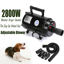 2800W Séchoir Pulseur Chiens Animaux dog hairdryer Grooming Hair Dryer EU Plug