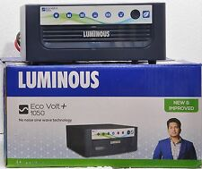 Luminous Inverter Eco Volt 1050 VA Sinewave UPS New Model - Brand New+ GST Bill