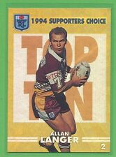 1994 Dynamic Series 2 Supporters Choice Allan Langer