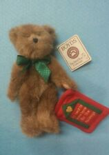 Boyds Teddy Bear Homer  A Holiday Bear The Head Bean Collection