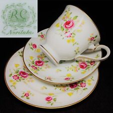 RC Philippines by Noritake c1980s Vintage China Trio Set Cup Saucer Plate