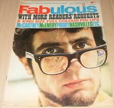 Fabulous magazine UK  October 31 1964 Paul McCartney  Michael Caine  P J Proby