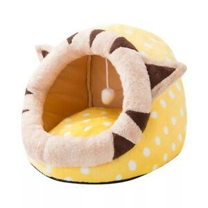 Hot Sell Pet Cat House Bed Indoor Kitten Warm Small Kennel For Cats Dogs Nest Co