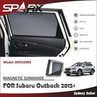 SP MAGNETIC CAR WINDOW SUN SHADE BLIND MESH REAR DOOR FOR SUBARU OUTBACK 2015+
