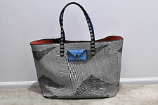NWT MARC BY MARC JACOBS Metropoli Optical Stripe Travel Tote M0006768 MSRP $298