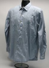 Tommy Bahama Mens Long Sleeve Button Front Shirt Sz M Embroidered Design Sz M F