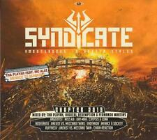 SYNDICATE 2013 = Angerfist/Endymion/Ruffneck/Unexist...=3CD= HARDCORE GABBER !!