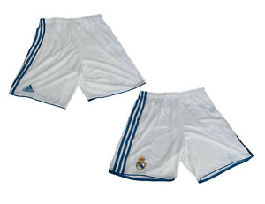 Real Madrid Home Trikot Shorts Hose 2017/18 Adidas M L