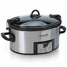 Crock-Pot Sccpvl610-S-A 6-Quart Cook & Carry Programmable Slow Cooker with Digit