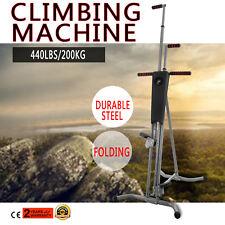 Exercise Climber Stepper Cardio Climbing Machine LCD Workout Vertical Cardio