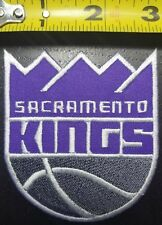 "Sacramento Kings NBA aprox. 4"" Iron/Sew On Patch~FREE SHIPPING FROM THE U.S.~"