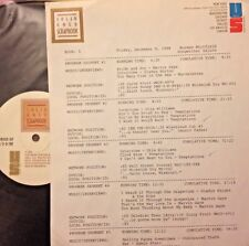 RADIO SHOW:12/9/88 NORMAN WHITFIELD SALUTE! MARVIN GAYE, TEMPTATIONS,EDWIN STARR