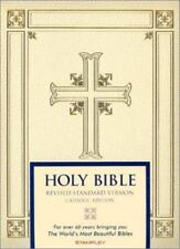 Catholic Family Bible : Revised Standard Version (Ivory) (2002, Hardcover)