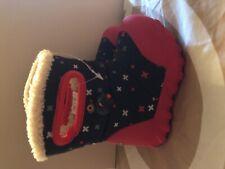 New Bogs Kids Winter Snow Boots sz 4 Waterproof