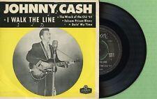 JOHNNY CASH / I Walk The Line / LONDON REM-S 6012 Press New Zealand 1959 EP EX