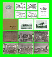 COLLECTION TUTTO CAPRONI AIRCRAFT REGIA AERONAUTICA VIZZOLA FLIGHT MANUAL - DVD