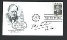 General Sir George Erskine Signed postal cover Senior British Army Officer WWII
