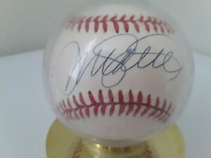 Ryne Sandberg Chicago Cubs Autographed Baseball