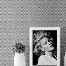 Kylie Minogue Silver Diamond Texture Metallic Heavy Weight Wallpaper 709004 Sale