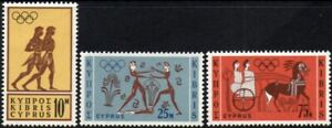 (Ref-15212) Cyprus 1964 Olympic Games Tokyo  SG.246/248 Mint (MNH)