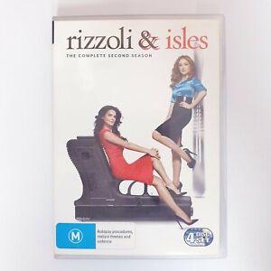 Rizzoli & Isles Season 2 DVD TV Series PAL Region 4 Free Postage - Crime Drama