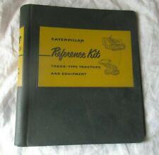 CAT Caterpillar empty binder for your manual or brochures 3 posts