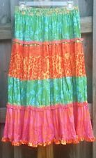Skirt Multi Color Boho Peasant XS Sigrid Olsen