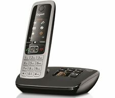 Gigaset C430A Cordless Home Phone with Answering Machine Loudspeaker Single