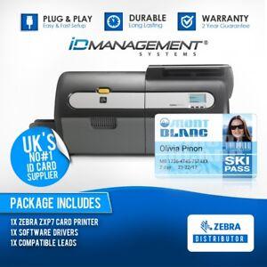 Zebra ZXP7 Single Sided Card Printer • Free UK Delivery • 2 Year Warranty