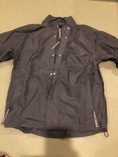 Snake Eyes Rain Jacket Size Men's Medium, Zip Off Sleeves
