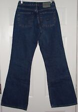 Womens Sz 30 SILVER JEANS Medium Wash Flare Blue Denim Barely Worn 30 x 34 EUC