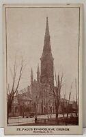 Buffalo N.Y. St. Paul's Evangelical Church Postcard B25