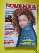 DOMENICA DEL CORRIERE ANNO 88 N. 20 17 MAGGIO 1986