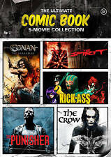 The Ultimate Comic Book 5-Movie Collection (DVD, 2013, 5-Disc Set) NEW SEALED