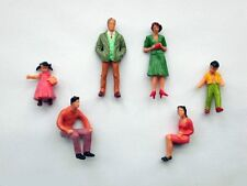 F13 - 20 Piece Figurines Standing + Sitting 1:3 2 for 1 Gauge and Carrera 132