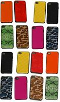NEW Wholesale Lot Back Skin Case Cover Polka Dots Cover For Apple i-phone 4 4S