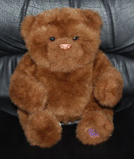 """Fur Real Friends Luv Cub Brown Bear Toy 9"""" Arms Move Makes Sounds Interactive"""