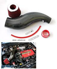 Fibra DI CARBONIO Kit Induzione Whale Assunzione Honda Civic 92-00 ek4/9 ES VTI ej9 z0188