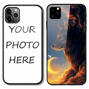Personalized Tempered Glass TPU Case Cover Custom For Apple iPhone 11 12 13 Pro