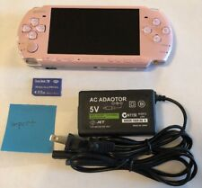 BLOSSOM PINK Sony PSP 3000 System w/ Charger & Memory Card Bundle WORKS Import