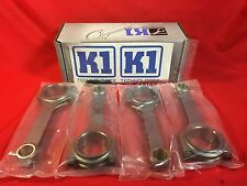 K1 Billet 4340 H Beam Long Rods 156mm for Mitsubishi Evo 7 MH6142ACGB-L4-A