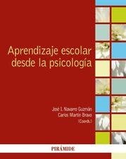 APRENDIZAJE ESCOLAR DESDE LA PSICOLOGIA.(PSICOLOGIA). ENVÍO URGENTE (ESPAÑA)