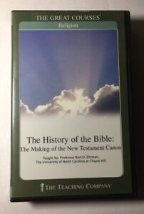 History of the Bible : The Making of the New Testament Canon (6 CDs & Guidebook)