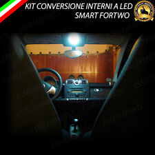 KIT FULL LED INTERNI SMART FORTWO 451 PLAFONIERA ANTERIORE 6000K